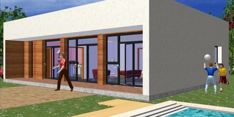 Casa prefabricada moderna Murcia 119,50 m²