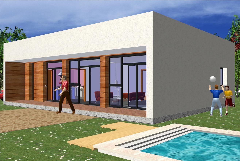 Maison moderne 119,50 m² Prix Nous Consulter – Conforme à la RT 2020-
