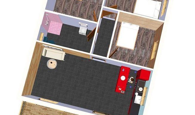 1 PLANO - Vivienda 90 m2 - copia