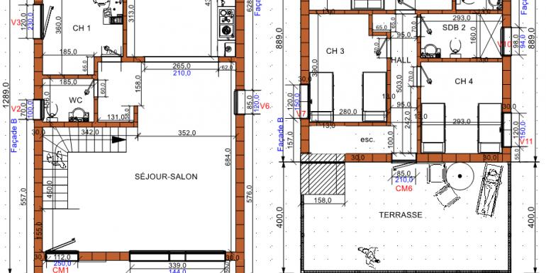 1 PLANS Maison 194,38 m²