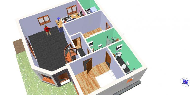 11, Vivienda 118,96 m² -