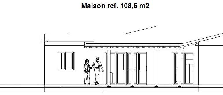 12 Chalet 108, 5 m2 - Suroeste
