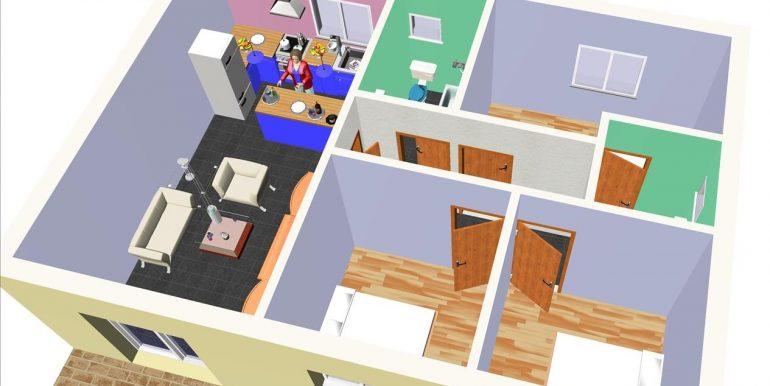 12 Vivienda 87,00 m² - B