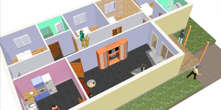 12 Vivienda ref 128,78 m² a