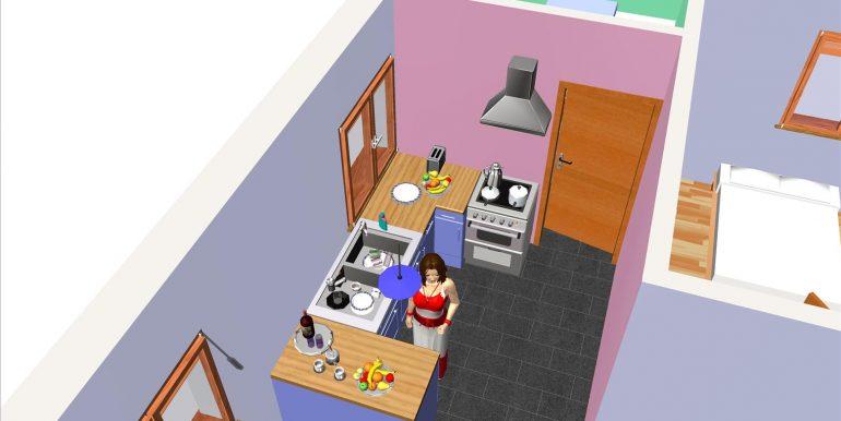 13, Vivienda 118,96 m² -