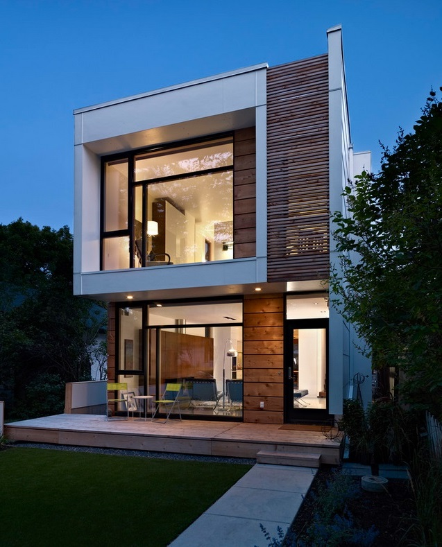 Maison moderne constructeur de maisons modernes en ossature bois prix - Prix maison moderne ...