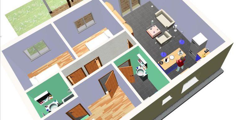 14 Vivienda 87,00 m² - B