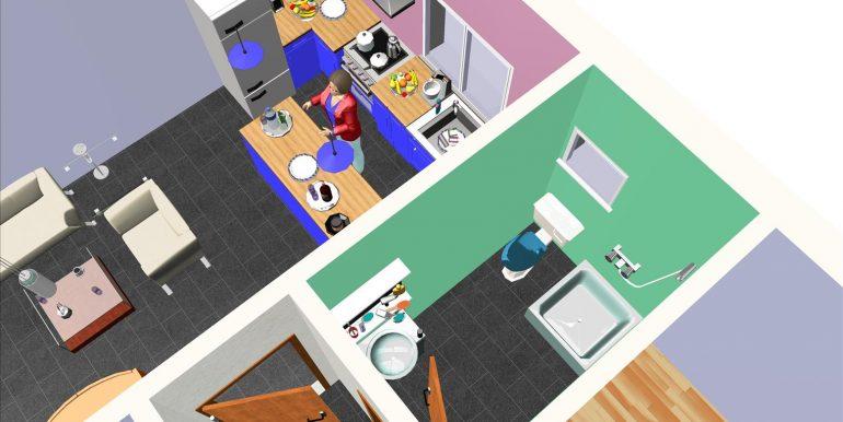 15 Vivienda 87,00 m² - B