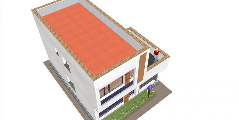 16 Maison moderne toit plat prix