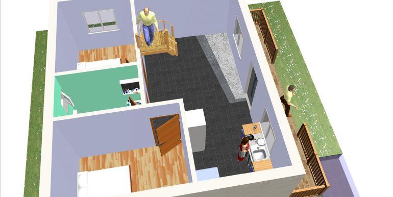 16 Vivienda ref 122,40 m²