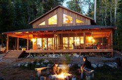 Maisons ossature bois rustique