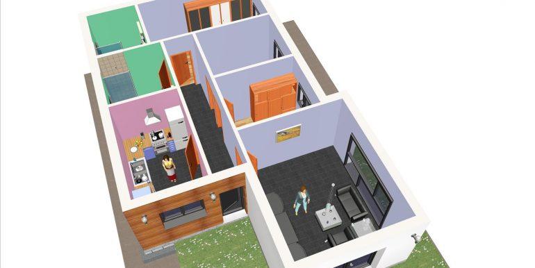 17, Maison 95,67 m2