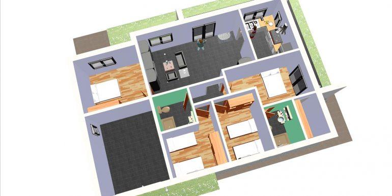 18, maison moderne garage 139,72 m
