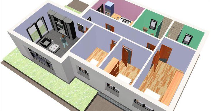 19, Maison 95,67 m2