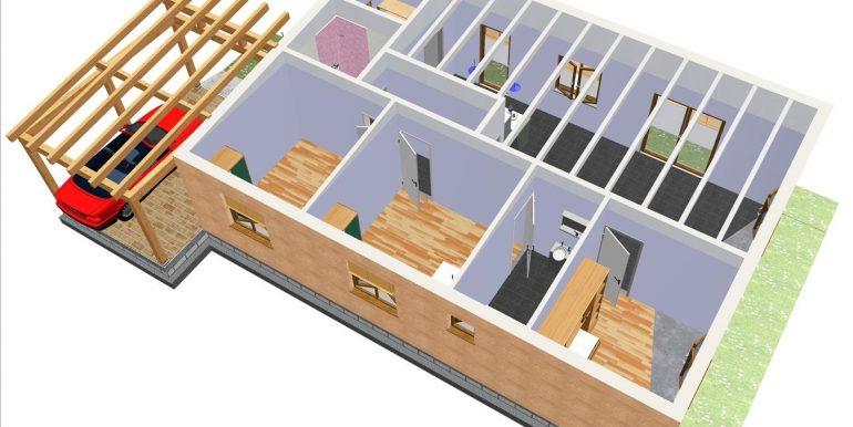 19 Vigas salon Montserrat Varela 111, 90 m2