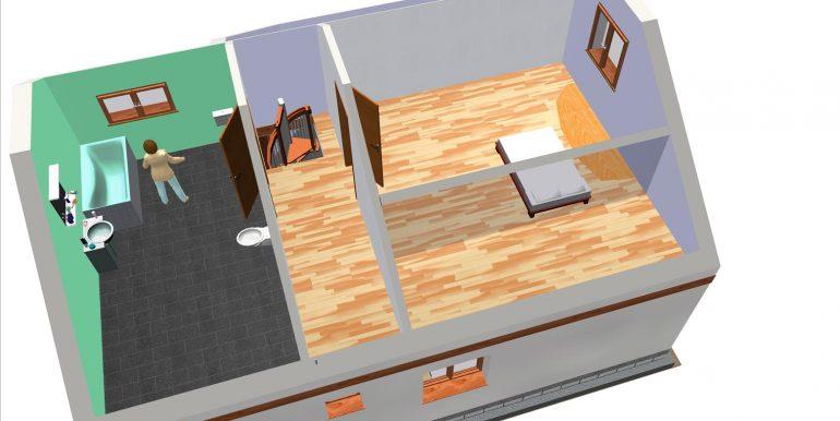 19, Vivienda 118,96 m² -