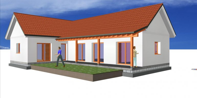 2 CONSTRUCTIONS DE MAISONS EN BOIS 132,87 m²