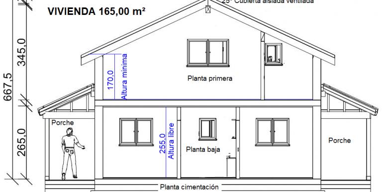 2, COUPE MAISON 165,00 m² - copia