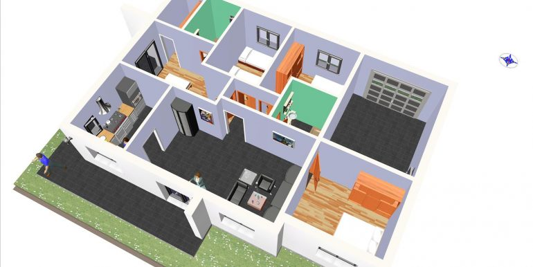 21, maison moderne garage 139,72 m2