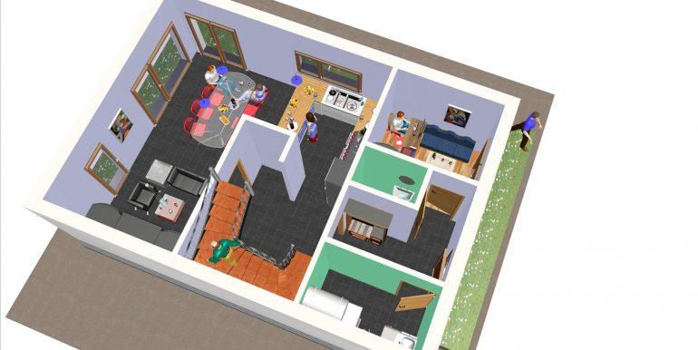 22, Vivienda 140 m2 B