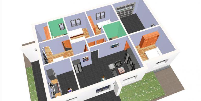 22, maison moderne garage 139,72 m2