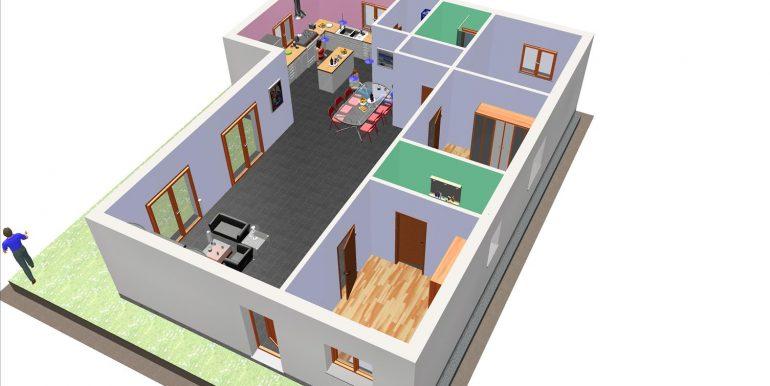 23 - vente maison bois 133,24