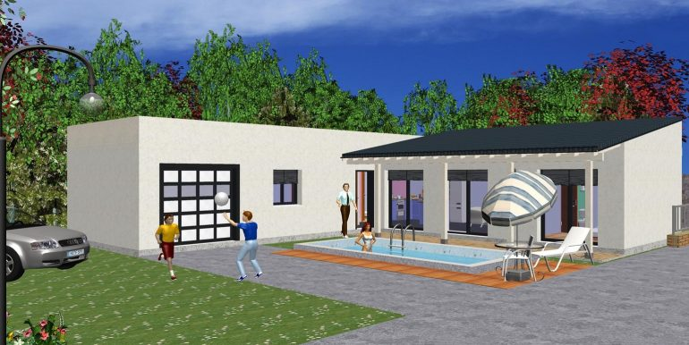 Projet 127,50 m²