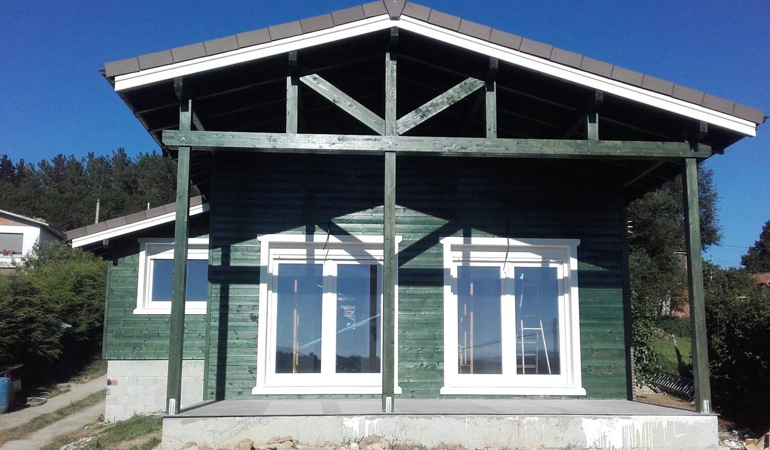 Maison en Ossature bois style rustique 175,39 m² – Prix Finition Totale 146.342,92 € TTC
