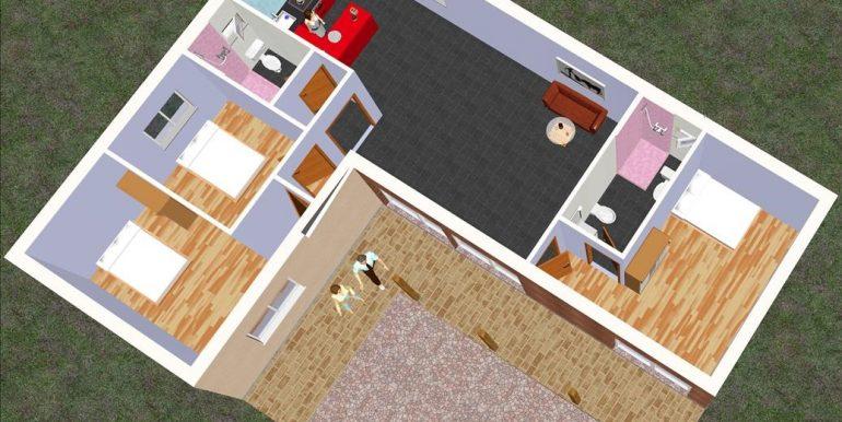 3 Chalet 108, 5 m2