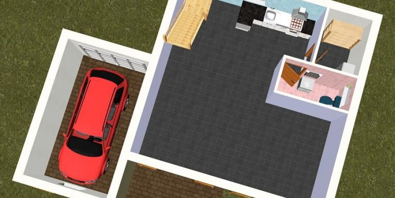3 RDC 3D -Maison 137,46m2
