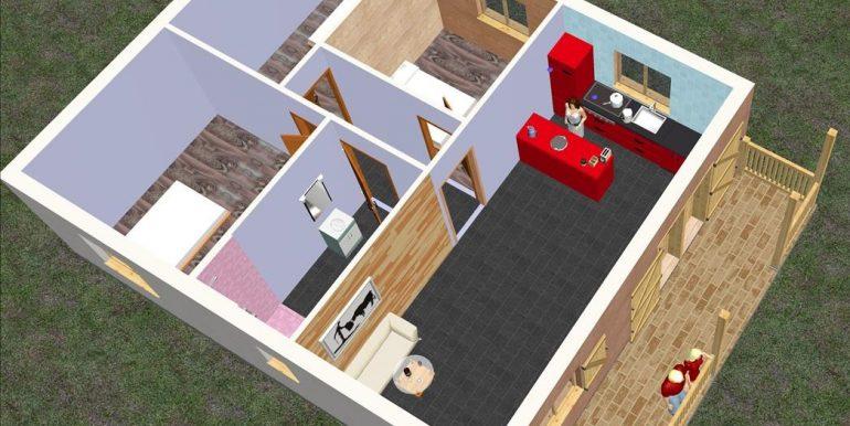 3 Vivienda 90 m2