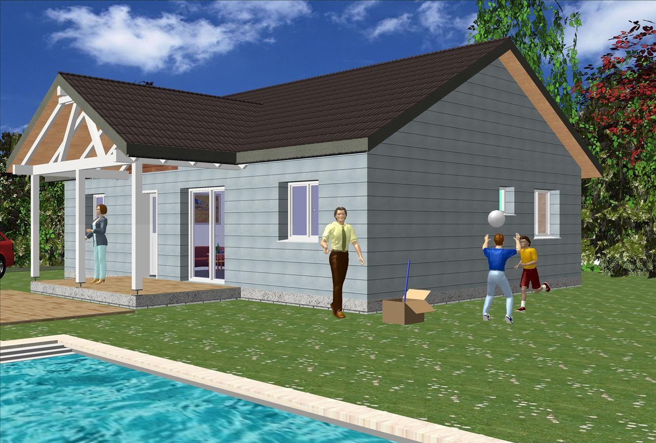 Maison traditionnelle 112 m² B – Prix Nous Consulter – Conforme à la RT 2020