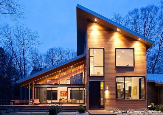 Casa de madera prefabricada económica 86,00 m²