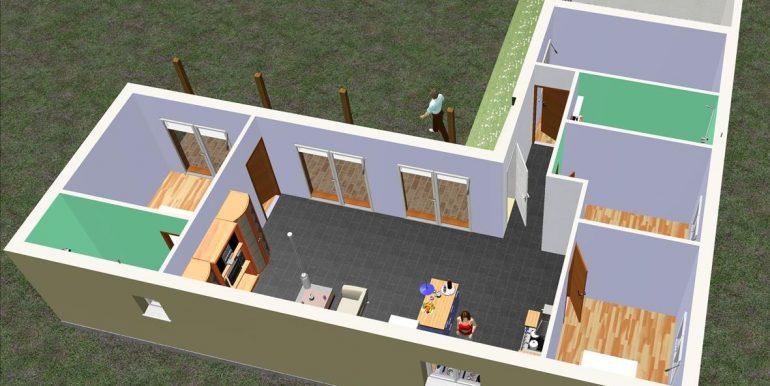 4 Projet Mr Herluison 127,50 m²