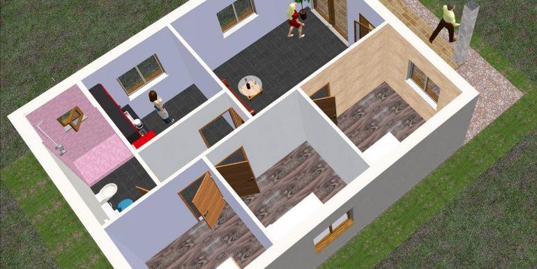 4 Vivienda 73,5 m2