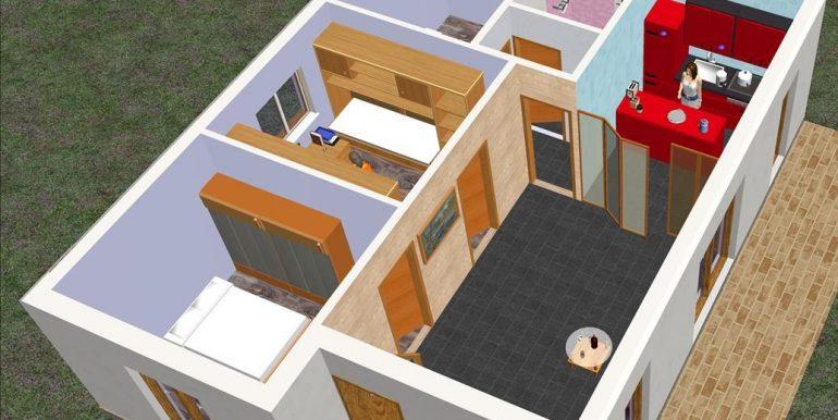 4 Vivienda 73,67 m2