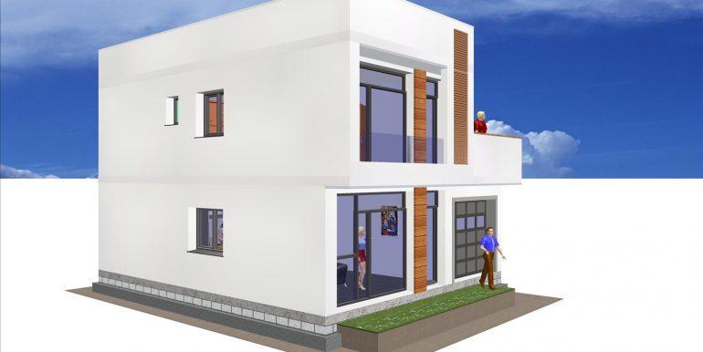 5, Maison moderne toit plat prix -