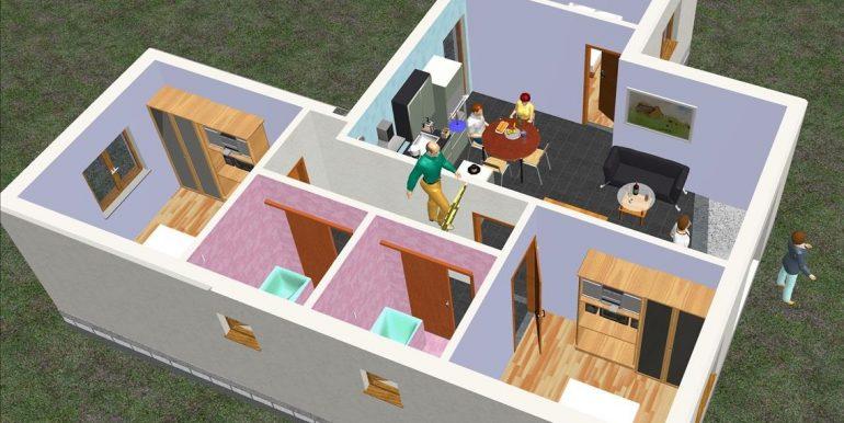 5 Sara p baja m²