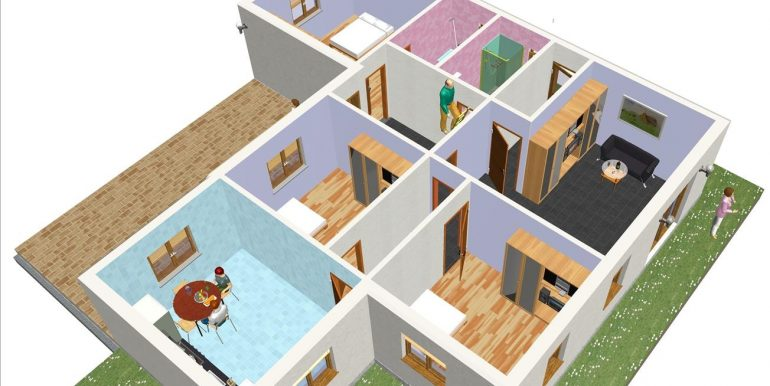 5 Vivienda 120 m²