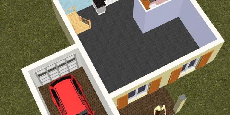 6 RDC 3D -Maison 137,46m2