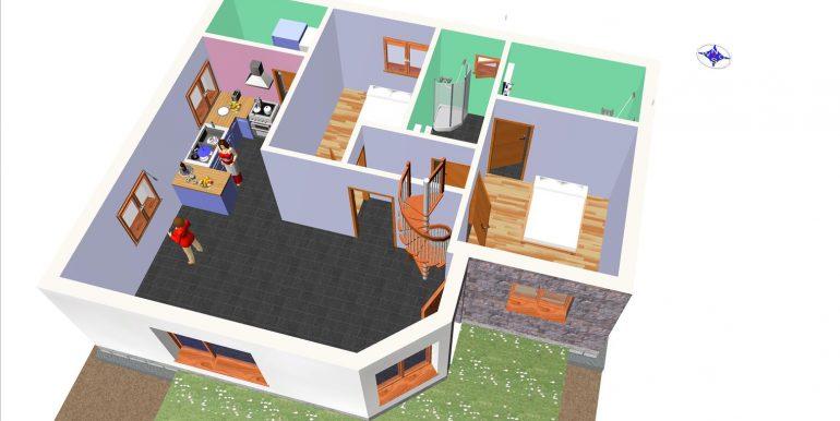 6, Vivienda 118,96 m² -