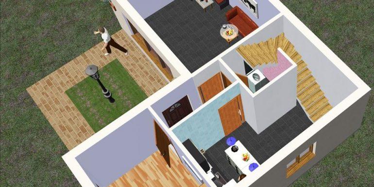 6 bajo Chalet 91,56 m²