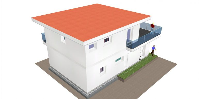 6, maisons modernes 3d