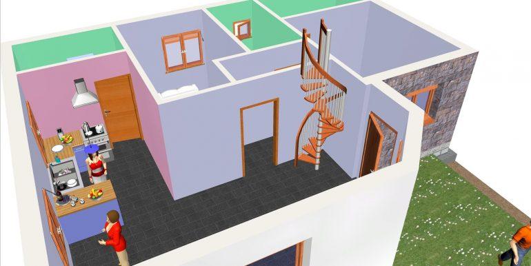 7, Vivienda 118,96 m² -