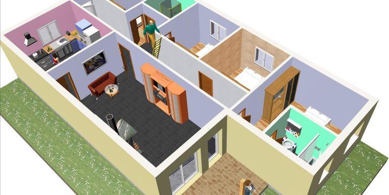 7 Vivienda ref 128,78 m² a