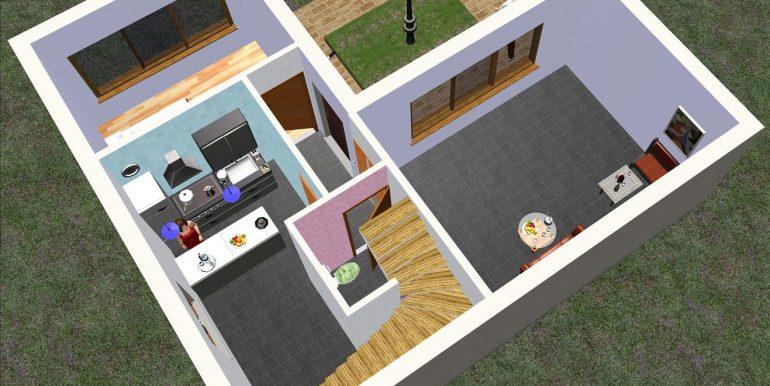 7 bajo Chalet 91,56 m²