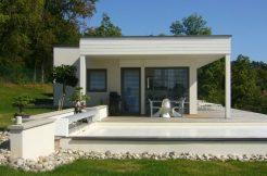 Conception de plans et devis gratuits pour la construction de votre Maison moderne contemporaine sur-mesure RT 2020 ou bien rustiqu en ossature bois Prix.