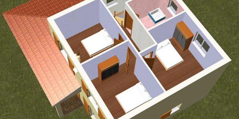 8 ETAGE 3D -Maison 137,46m2