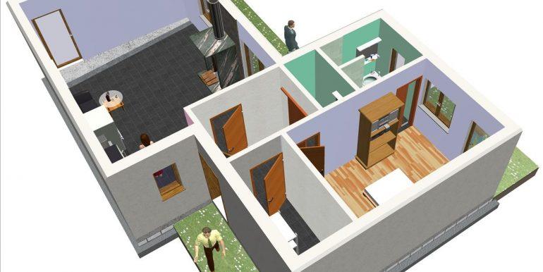 8 P baja - Vivienda 72,16 m²