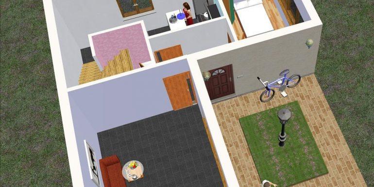 8 bajo Chalet 91,56 m²